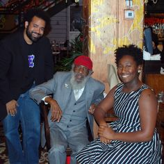 Surprise! Activist and comedian Dick Gregory wished Gamma Xi Phi well as Beta Chapter celebrated the fraternity's first five years.
