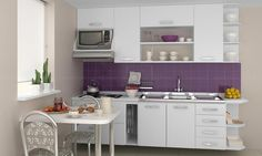 Cozinha Modulada Branco - Completa