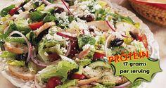 High Protein Greek Chicken Salad Recipe
