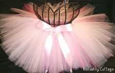 The Ballerina Bliss pink sewn tutu is perfect by PiccadillyCottage, $35.00