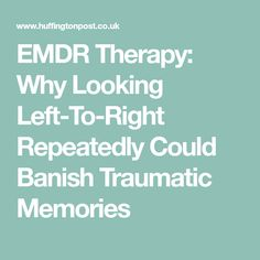 emdr and dbt therapy essay At its core, dbt is a support-oriented, cognitive-based therapy that helps you identify thoughts [and] beliefs that make life harder and reimagining those thoughts and beliefs to increase emotional and behavioral harmony.