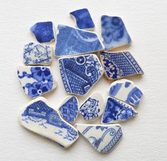 Marvellous bits of sand washed and tumbled ceramics....best beach near Abersoch for cute inspirational patterned bits like these and washed glass too.....Porth Dinllaen.