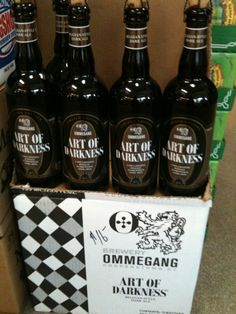 The newest release from Brewery Ommegang – Art Of Darkness is now available.  Arts is a Belgian inspired dark ale with notes of fruit, caramel, & chocolate.  Got a bottle sitting in the wine rack....how long can I resist?!?!