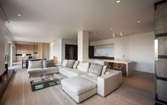 Contemporary apartment in Sienna Italy designed in warm colors - CAANdesign | Architecture and home design blog