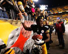 12/28/14 #SteelersNation Pittsburgh Steelers:  Final score: Steelers 27 Bengals 17.... #AntonioBrown
