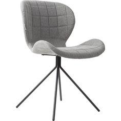 2 chaises design omg grises claires - lot de 2 - zuiver Zuiver | La Redoute