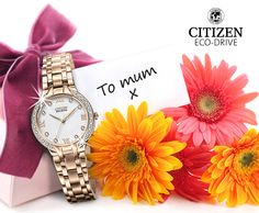 """Citizen Watch UK Mother's Day competition - win your Mum a watch."" I entered to win."