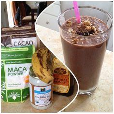 Easy breezy breakfast, yet loaded with superfoods. Soy milk (I'd prefer oatmeal milk if I had it), cacao powder, maca powder, coconut oil, honey and date/cashew granola on top. Cafezinho facil, porem lotado de nutrientes, leite de soja (usaria de aveia se tivesse), pó de cacau, maca, óleo de coco, mel e granola de tâmara/castanha de caju. Bom dia! Good luck to our boys + girls at Renzo's Invitational today! RABJJ, a way of life!