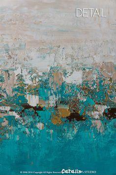 Resumen pintura grande Resumen arte de la pared decoración
