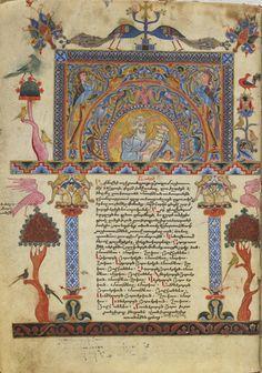 Biblical Manuscripts | The Gospel according to the Four Evangelists. Armenia. #FreerSackler