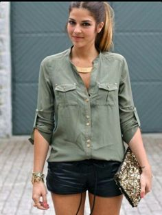 I like the color. Wish it could be a little bit simpler. Blouse #Blouse #blouse2dayslook #jamesfaith712   www.2dayslook.com