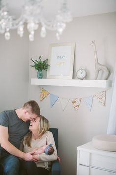 A Gender-Neutral Nursery with Hints of Feminine Accents | Apartment Therapy