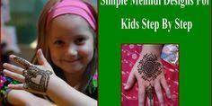 Beautiful Eid Mehndi Designs For Kids 2016