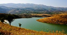 LEBANON, W. BEKAA, THE LITANI RIVER