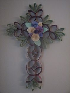 paper crafts/ Easter cross