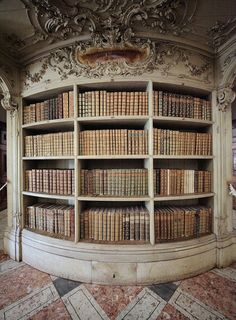 Mafra National Palace's Library.  Oh, I want this in my future home, please?.