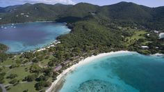 Take a quick flight from Atlanta to St. Thomas and a private ferry over to Caneel Bay Resort on the island of St. John