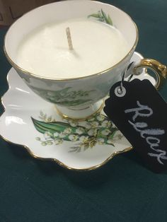 www.theartofmassage.ca  Teacup candles