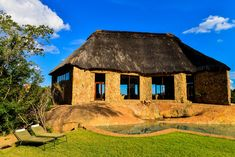 External view of the bar at Matobo Hills Lodge