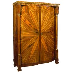 Biedermeier Armoire | From a unique collection of antique and modern wardrobes and armoires at http://www.1stdibs.com/furniture/storage-case-pieces/wardrobes-armoires/