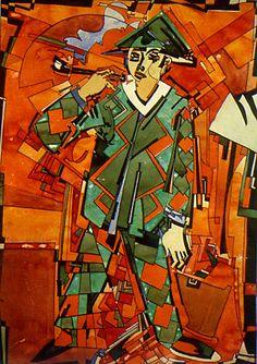 "Ado Vabbe ""Arlekiin"", 1924.a. / Ado Vabbe (estonian) ""Harelquin"" 1924"