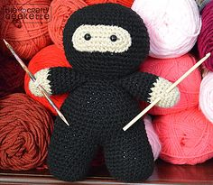 Ravelry: Crafty Ninja pattern by The Crafty Geekette