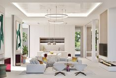 Roof Terrace Design, Living Area, Living Room, Luxury Loft, Cayman Islands, Apartment Interior, Home Projects, Furniture Design, Dining Table