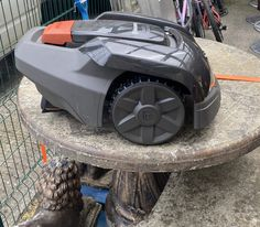 Is there anything cooler than a robot? Just in - a Husqvarna Robotic Cordless Auto Mower 105. It cuts the grass constantly and so finely that you don't even need a grass box
