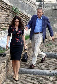 Monica Bellucci Photos - Robert De Niro and Monica Bellucci Film Scenes - Zimbio