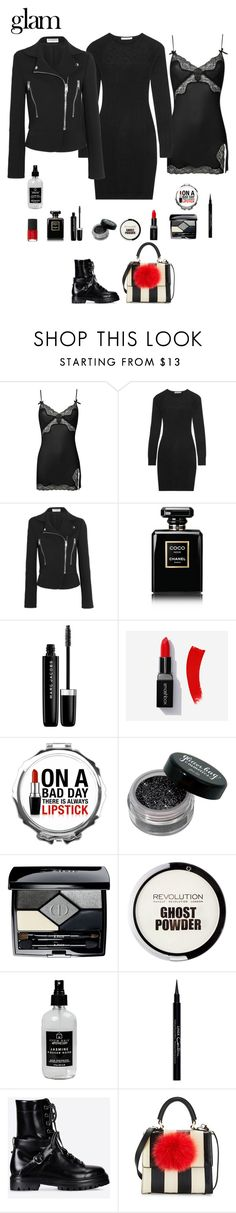 """""""9:53"""" by stacy-hardy ❤ liked on Polyvore featuring beauty, Agent Provocateur, Autumn Cashmere, Naeem Khan, Balenciaga, Chanel, Marc Jacobs, Christian Dior, Little Barn Apothecary and Givenchy"""