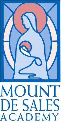 Mt. de Sales Academy - school logo. High School for girls, in Catonsville, Md.