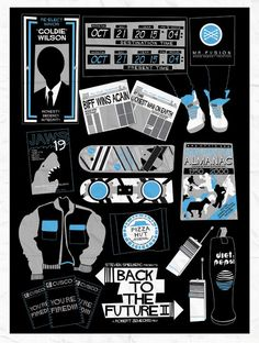 bttf 2 graphic poster