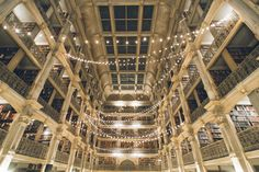 The George Peabody Library wedding in Baltimore, MD - captured by photo-documentary Baltimore wedding photographer Ben Lau.