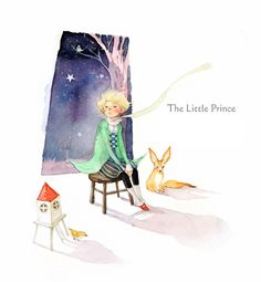 The Little Prince / © Kim Minji - illustrator