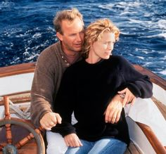 Kevin Costner and Robin Wright & ldquo; Message in a bottle & rdquo ;, 1999