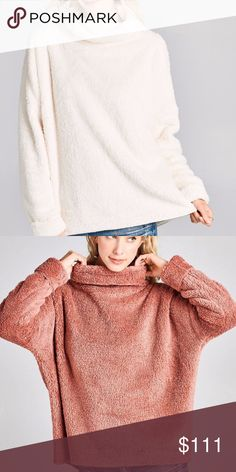 Fuzzy fleece sweater Description: Solid faux fur pullover top with a funnel neck and long dolman sleeves. Style this fuzzy plush sweater with jeans and tall boots for a warm and cozy look. Category: Tops Fabric: Faux Fur Content: 100% Polyester Made In: USA oddi Sweaters Shrugs & Ponchos