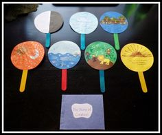April's Homemaking: Simply Sunday School - Creation Story Sequence ...