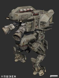 ArtStation - HAWKEN: Mech Class A - Kerby Chassis, Cameron Kerby