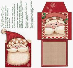 Cajas de Santa Claus para Imprimir Gratis. - Ideas y material gratis para fiestas y celebraciones Oh My Fiesta!