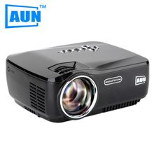 AUN Projector AM01P LED Projector Built-in Android 4.4 DLAN WIFI Bluetooth Miracast Airplay EZCast Multilanguage MINI Beamer