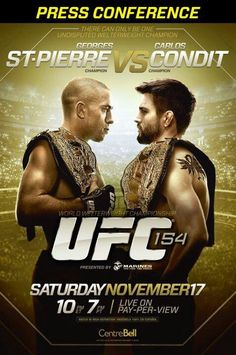 UFC 154 #MMA #UFC #Fight 8531 Santa Monica Blvd West Hollywood, CA 90069 - Call or stop by anytime. UPDATE: Now ANYONE can call our Drug and Drama Helpline Free at 310-855-9168.