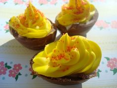 Cadbury Creme Deviled Eggs (Plus How to Make the Eggs from Scratch)