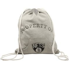 NBA Brooklyn Nets Hoodie Cinch Bag - Ash by Little Earth. Save 42 Off!. $24.95. Check out our popular line of bags inspired by the classic look of hoodie sweatshirts. These unstructured bags feature stylish details like metal grommets lacing a working kangaroo pocket white ribbing and zig-zag stitching.