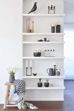Der Versuch.... Foto: Mitglied Schönsinn #regal #shelf #dekoration #decoration #frühling #spring