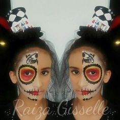 Make up Mitad catrina