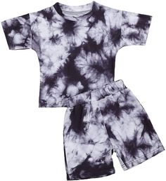 NB Short sleeve tie dye baby grow