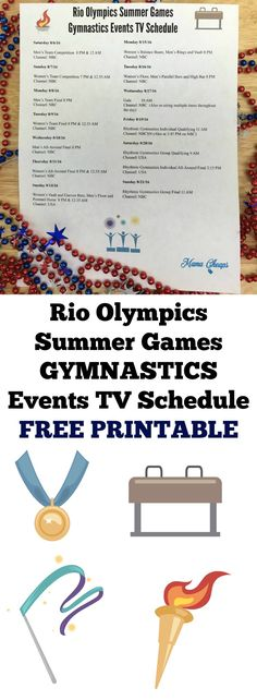 photograph relating to Printable Olympics Tv Schedule named 46 Excellent Family vacation Activities: Olympics Snack and Video game Plans