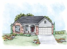 Traditional House Plan with 1663 Square Feet and 2 Bedrooms from Dream Home Source | House Plan Code DHSW75627