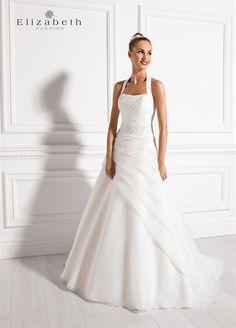 E-2532T Wedding Dress Organza, Stunning Wedding Dresses, Wedding Bridesmaid Dresses, Wedding Dress Styles, Bridal Dresses, Beautiful Dresses, Net Gowns, Allure Bridal, Bridal Style