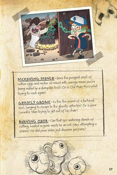 Gravity Falls - Dipper and Mabel's Guide to Mystery and Nonstop Fun - Album on Imgur